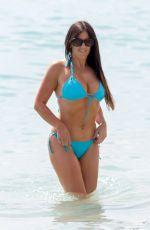 CLAUDIA ROMANI in Bikini at a Beach in Miami 03/22/2018