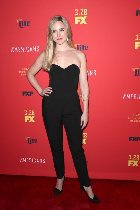CLEA ALSIP at The American's Premiere in New York 03/16/2018