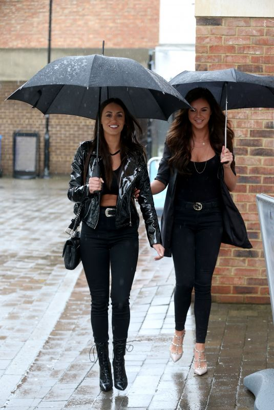 CLEILA THEODOROU and SHELBY TRIBBLE at Health Garden at Essex 03/28/2018