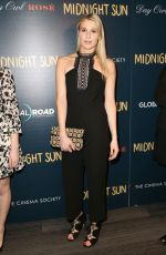 COMFORT CLINTON at Cinema Society & Day Owl Rose Host a Screening of Midnight Sun in New York 03/22/2018