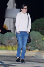 COURTENEY COX and Johnny McDaid Night Out in Malibu 03/22/2018