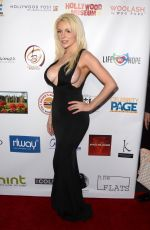 COURTNEY STODDEN at Roger Neal Style Hollywood Oscar Viewing Dinner 03/04/2018