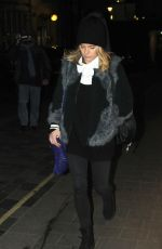CRESSIDA BONAS Night Out in London 03/19/2018