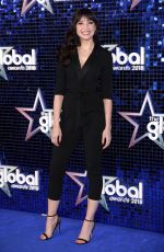 DAISY LOWE at Global Awards 2018 in London 03/01/2018