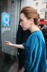 DAISY RIDLEY at Global Studios in London 03/09/2018