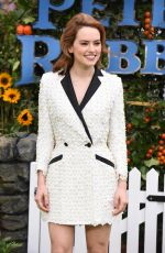 DAISY RIDLEY at Peter Rabbit Premiere in London 03/11/2018
