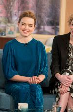 DAISY RIDLEY at This Morning TV Show in London 03/03/2018