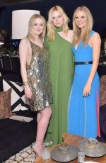 DAKOTA and ELLE FANNING at The Hollywood Reporter and Jimmy Choo Power Stylists Dinner in Los Angeles 03/20/2018