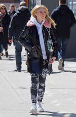 DAKOTA FANNING Heading to a Gym in New York 06/03/2018