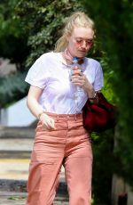 DAKOTA FANNING Out and About in Hollywood 03/23/2018