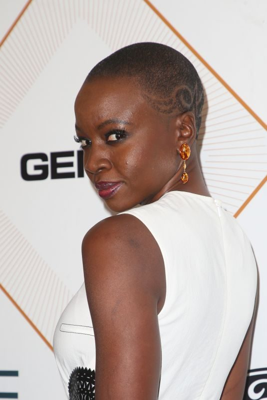DANAI GURIRA at 2018 Essence Black Women in Hollywood Luncheon in Beverly Hills 03/01/2018