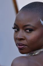DANAI GURIRA at 90th Annual Academy Awards in Hollywood 03/04/2018