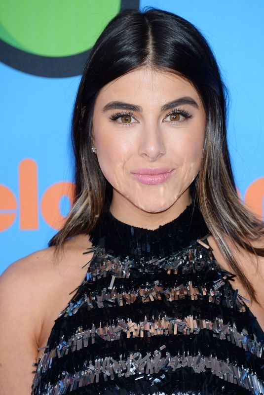DANIELLA MONET at 2018 Kids' Choice Awards in Inglewood 03/24/2018