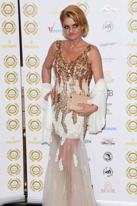 DANIELLA WESTBROOK at 2018 National Film Awards in London 03/28/2018