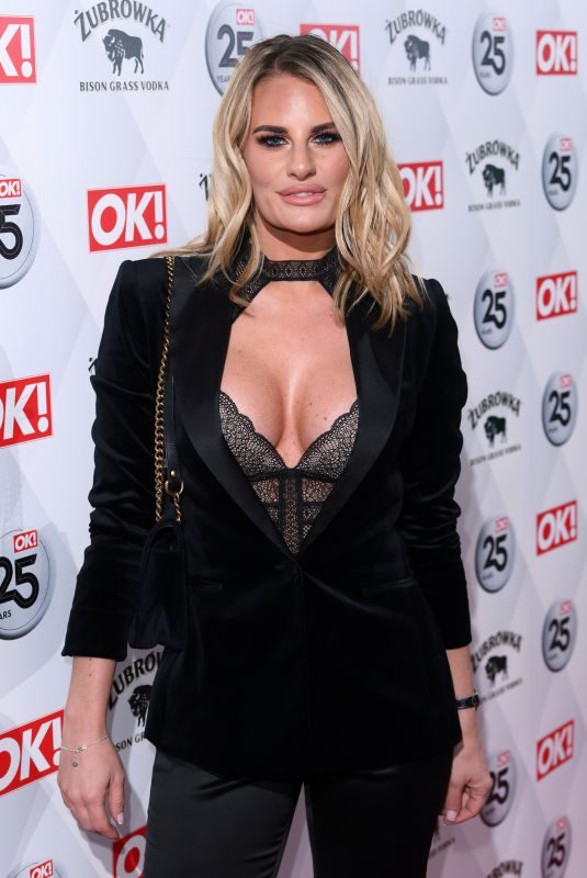 DANIELLE ARMSTRONG at OK! Magazine's 25th Anniversary in London 03/21/2018