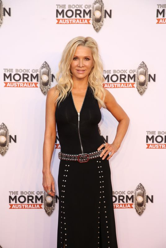 DANIELLE SPENCER at The Book of Mormon Opening Night in Sydney 03/09/2018