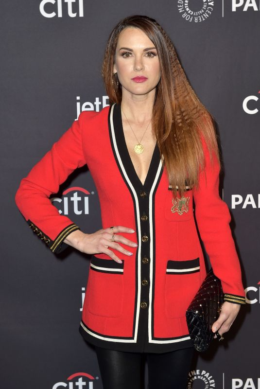 DANNEEL ACKLES at Supernatural Panel at 35th Annual Paleyfest in Hollywood 03/20/2018