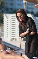 DAPHNE JOY at a Beach in Miami 03/15/2018