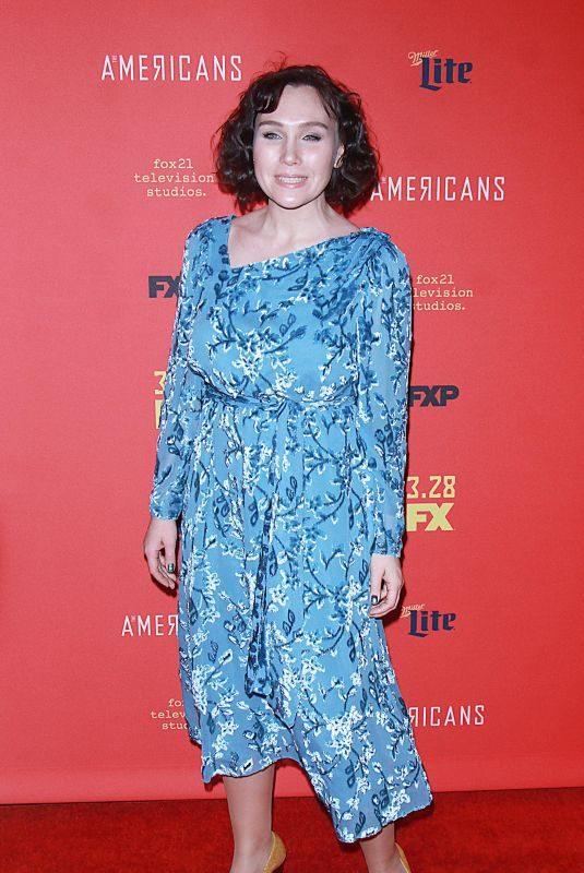DARYA EKAMASOVA at The American's Premiere in New York 03/16/2018