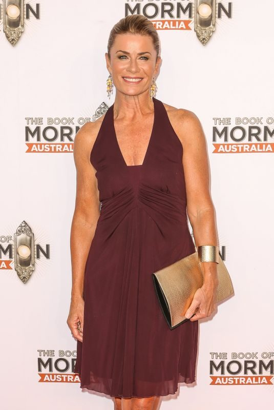 DEBORAH HUTTON at The Book of Mormon Opening Night in Sydney 03/09/2018
