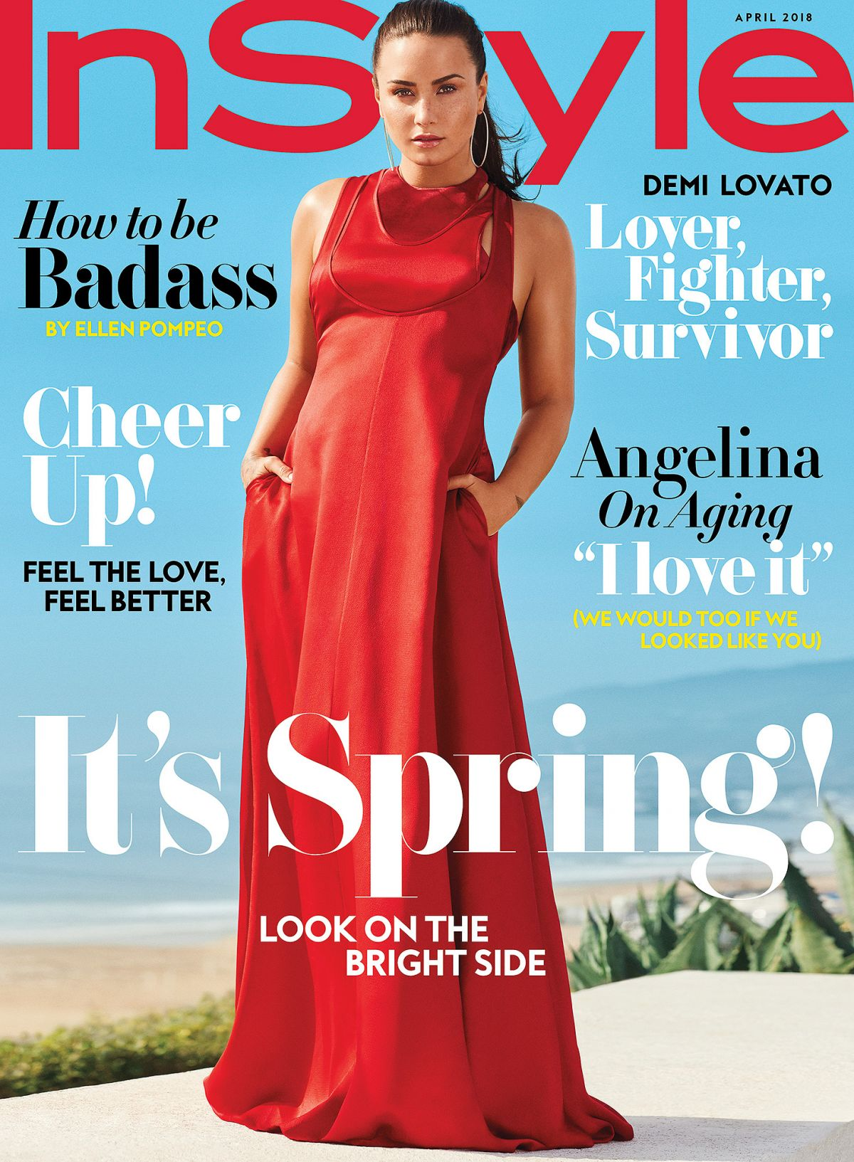 Demi Lovato For Instyle Magazine April 2018 Hawtcelebs