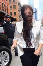 DEMI LOVATO leaves Her Hotel in New York 03/16/2018