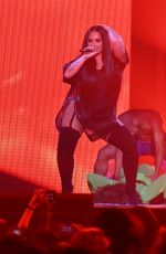 DEMI LOVATO Performs at Her Tell Me You Love Me Tour in Las Vegas 03/03/2018