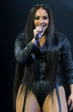 DEMI LOVATO Performs at Her Tell Me You Love Me Tour in Los Angeles 03/02/2018