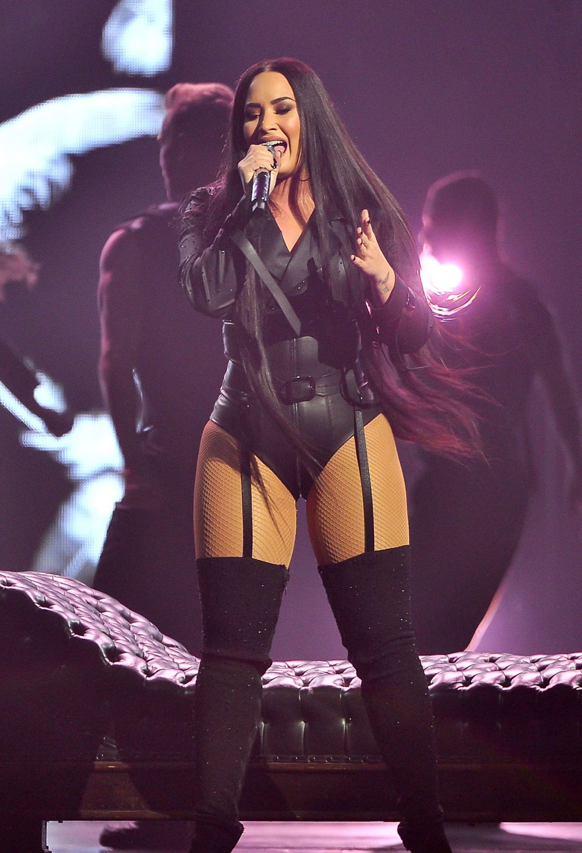 Demi Lovato Performs At Her Tell Me You Love Me Tour In San Jose 02 28 2018 Hawtcelebs