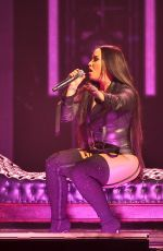 DEMI LOVATO Performs at Her Tell Me You Love Me Tour in San Jose 02/28/2018