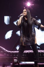 DEMI LOVATO Performs at Her Tell Me You Love Me World Tour in New York 03/16/2018