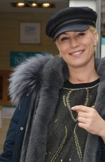 DENISE VAN OUTEL Leaves RTE Studios in Dublin 03/23/2018