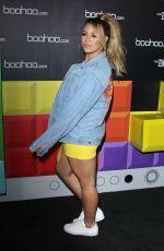 DINAH JANE at Boohoo Hosts The Zendaya Edit Block Party in Los Angeles 03/21/2018