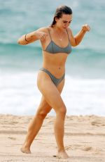 DJ TIGERLILY in Bikini at Maroubra Beach 03/20/2018
