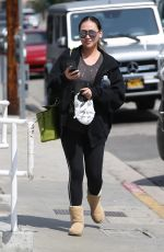 DOROTHY WANG Heading to a Gym in Los Angeles 03/23/2018