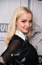 DOVE CAMERON at AOL Build in New York 03/21/2018
