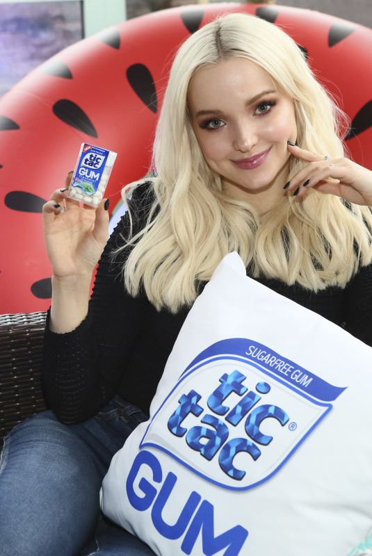 DOVE CAMERON at Tic Tac Gum Event in New York 03/20/2018