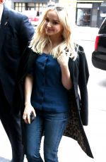 DOVE CAMERON Out and About in New York 03/20/2018