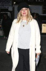 DREW BARRYMORE Arrives at Today Show in New York 03/20/2018