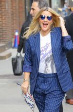 DREW BARRYMORE at Late Show with Stephen Colbert