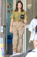 DUA LIPA Leaves a Dentist Office in Sydney 03/25/2018