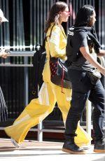 DUA LIPA Leaves Her Hotel in Perth 03/30/2018