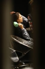 EIZA GONZALEZ at a Hair Salon in Los Angeles 03/23/2018