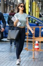 EIZA GONZALEZ on the Set of Paradise Hill in Spain 03/29/2018