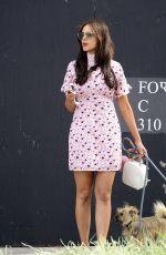 EIZA GONZALEZ Walks Her Dogs in Los Angeles 03/26/2018