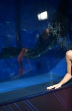 ELINE POWELL at Popsugar x Freeform Mermaid Museum VIP Night in Los Angeles 03/21/2018