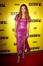 ELIZABETH CHAMBERS at Final Portrait Premiere at SXSW Festival in Austin 03/09/2018