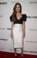 ELIZABETH CHAMBERS at Final Portrait Screening in Los Angeles 03/19/2018