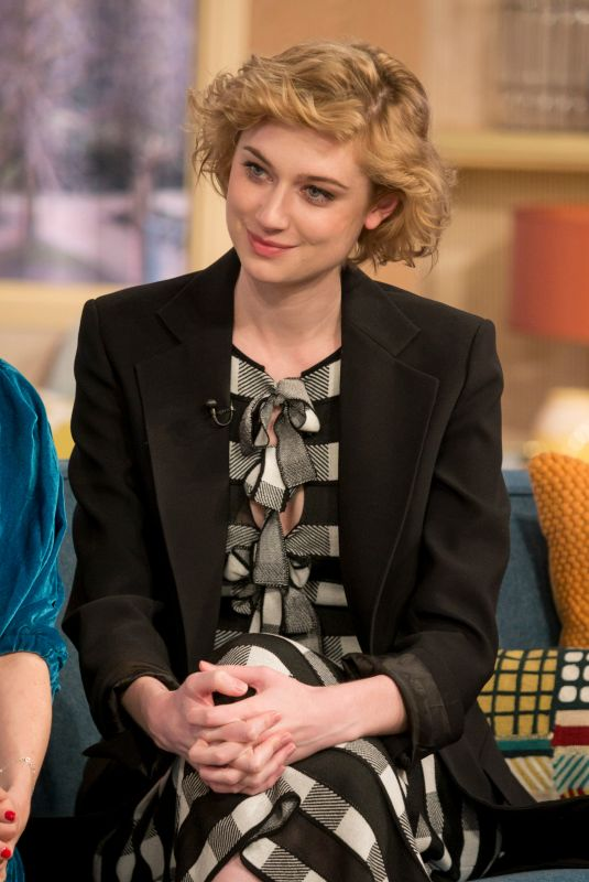 ELIZABETH DEBICKI at This Morning Show in London 03/09/2018