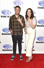 ELIZABETH HENSTRIDGE at Agents of S.H.I.E.L.D Panel at Wondercon 2018 in Anaheim 03/24/2018